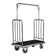 Stainless Steel Luggage & Garment Trolley | Wagen