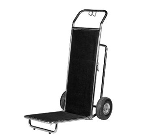 Stainless Steel Porters Luggage Trolley | Wagen