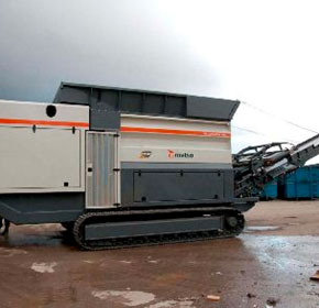 Industrial Shredders | M&J 4000 Range