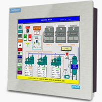 "HMI Touch Screen Panel Conformal Coated | Uticor 15"" Touch Plusâ""¢"