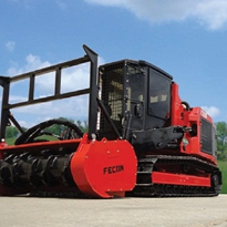 Compact Mulching Tractor | Fecon FTX128L