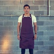 Burgundy Apron | The Tamper