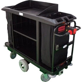 Powered Housekeeping / Cleaning Cart | Rubbermaid 6189