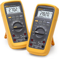 Fluke 27 II, 28 II Industrial IP67 Digital Multimeters