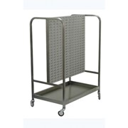 Maxi Louvered Trolley ideal for supplying components to a workstation