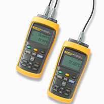 Fluke Calibration 1523, 1524 Handheld Thermometer Readout