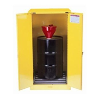 207L Yellow Flammable Storage Cabinet | AU25701