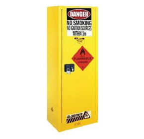 170L Yellow Flammable Storage Cabinet | AU25308