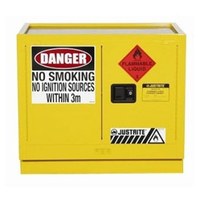 100L Yellow Flammable Storage Cabinet | AU25748