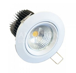 7W COB LED Non-dimmable/Dimmable Gimble Downlight | 600-650lm