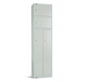 Dual Compartment Lockers