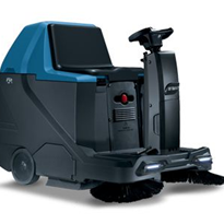 Industrial Battery Powered Ride-On Sweeper | Fimap FSR CB