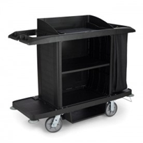 Full Size Housekeeping Cart | Rubbermaid HOS-109-RFG618900