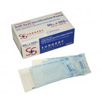 Triple Pack 90mm x 162mm Sterilisation Pouches | Surgery Selections