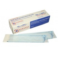 Triple Pack 70mm x 257mm Sterilisation Pouches | Surgery Selections
