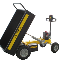 Battery Electric Tipper with Swivel Tiller Handle | Alitrak JT300L