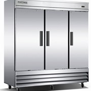 Upright Solid Door Stainless Steel Freezer | CFD-3FF