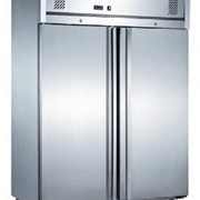 Upright Solid Door Stainless Steel Refrigerator | GN1410TN2D