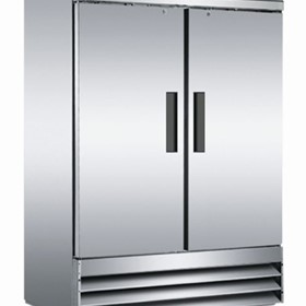 Upright Solid Door Stainless Steel Refrigerator | CFD-2RR