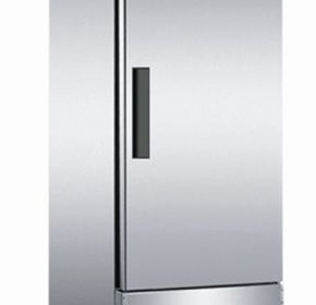 Upright Solid Door Stainless Steel Refrigerator | CFD-1RR