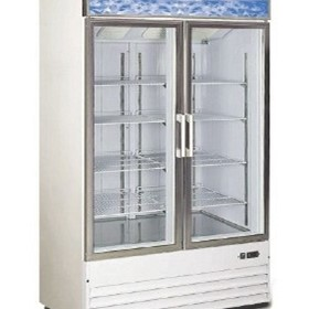 Upright Glass Door Freezer | AFS850