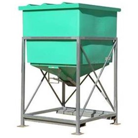 915 Ltr Centre Discharge Hopper | JB915MS