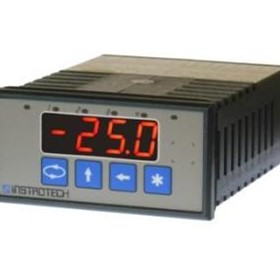4 Digit Dual Process Indicator | Model 4015 - Instrotech Australia