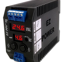 Power Supply with Built-in LED Display/Diagnostics