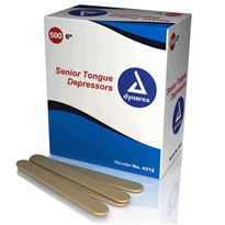 Wooden Tongue Depressors | Dynarex