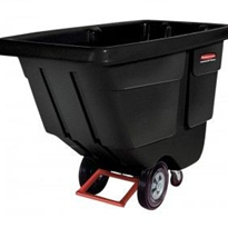 Black Utility Duty Tilt Truck | Rubbermaid