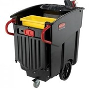 Mobile Waste Collector | Rubbermaid Mega BRUTE®