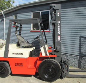 3.5t Used Forklift | Nissan BF03A35U Unit #1023