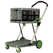 2 Tier Collapsible Folding Trolley | Clax Cart