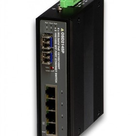 4-Port PoE+ 10/100/1000BASE-T+2-Port 100/1000Base SFP Ethernet Switch