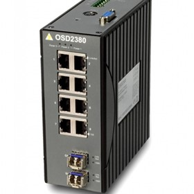 Managed 8-Port 10/100BASE-T & 2-Port Gigabit Ethernet Switch