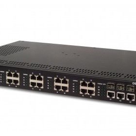 Managed 24 Port 10/100Base Industrial Ethernet Switch