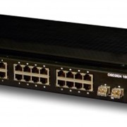 High Speed 10 Gigabit L2 Managed 24 Port Industrial Ethernet Switch