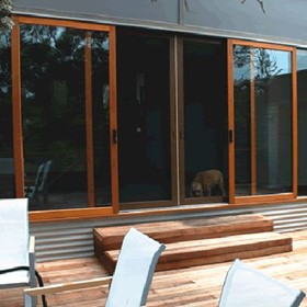 Timber Sliding Door | Trend Western Red Cedar