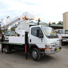 12 Metre Telescopic Cherry Picker for Hire | Nifty Lift