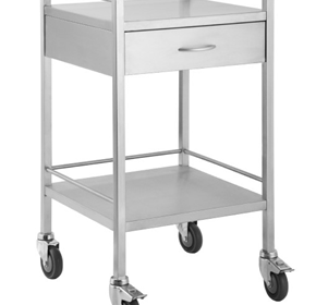 Stainless Steel Trolleys 1 Drawer | Access Health