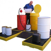 Spill Containment Deck | Spill Station Australia