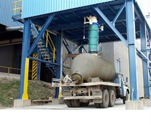 Loading bellows are designed for the efficient, dust-controlled loading of dry, dusty bulk solids materials into open truck and tanker containers.