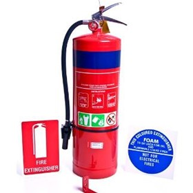 9lt AFFF Air/Foam Fire Extinguisher | EAF9.0LWBK