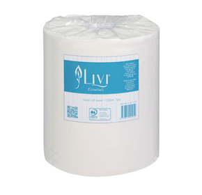 1ply 200m Auto-Cut Hand Roll Towel | Livi® Essentials