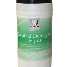 Neutral Detergent Wipes | Reynard