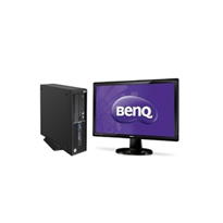 "Small Form Factor with BenQ 27"" Monitor 