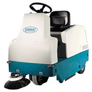 Compact Battery Ride-on Sweeper | Tennant 6100