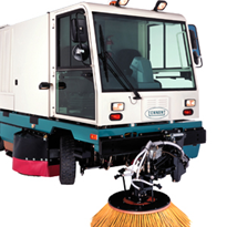 Heavy Duty Ride-on Sweeper | Tennant Sentinel