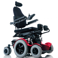 Power & Manual Standing Wheelchair | LEVO C3