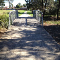 Floor Tuff Ultimate provides non-slip solution for wooden bridges